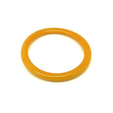 Vintage 1930s Butterscotch Orange Bakelite Bangle
