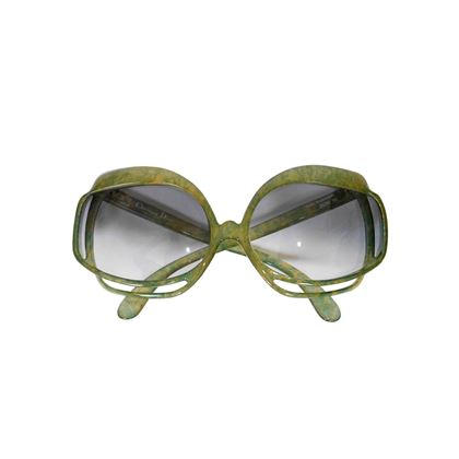 Christian Dior Model 2026-50 1970s Vintage Oversized Sunglasses