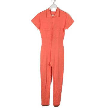 Chanel Salmon Pink Cotton Jumpsuit