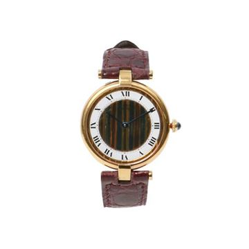 Cartier Bordeaux Must Vendome Vermeil Watch