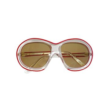 Pierre Marly Attributed 1970s Handmade Oversized Sunglasses
