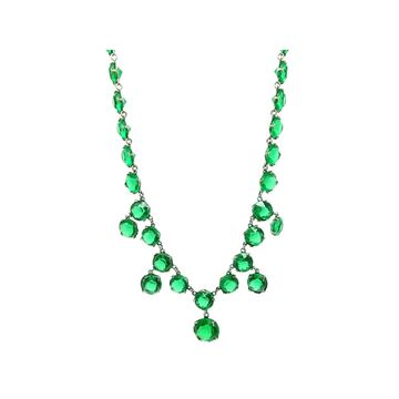 vintage-1930s-art-deco-emerald-green-glass-necklace