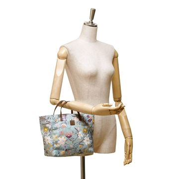 gucci-blue-with-multi-coloured-floral-printed-canvas-tote-bag