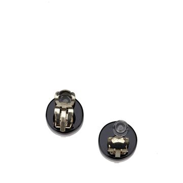 chanel-black-and-white-coco-paris-clip-on-earrings
