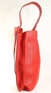 Gianni Versace 1990s Couture Red Leather Convertible Bag