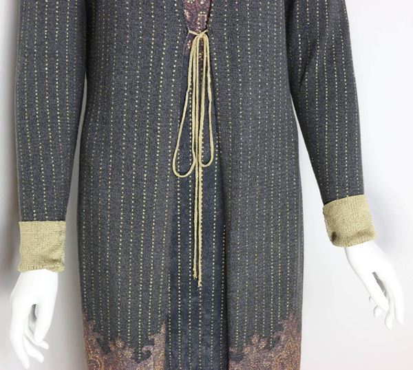 roberto-cavalli-art-collection-dress-and-long-cardigan