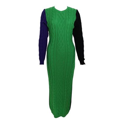 versus-by-gianni-versace-colour-blocked-knitted-maxi-dress