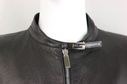 gucci-by-tom-ford-black-lambskin-leather-jacket
