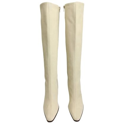 celine-white-suede-long-boots