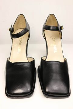 chanel-classic-black-leather-square-toe-heels
