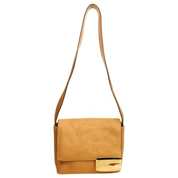 Gucci by Tom Ford 1990s Pony Hair Camel Brown Shoulder Bag