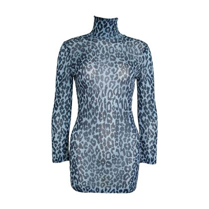 dolce-gabbana-metallic-blue-leopard-print-dress