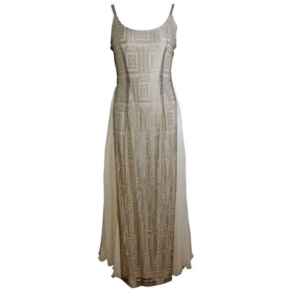 severin-metallic-pattern-printed-silk-cream-long-dress