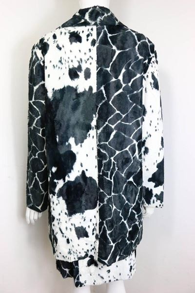 kenzo-black-and-white-cow-print-faux-fur-jacket-and-skirt-ensemble