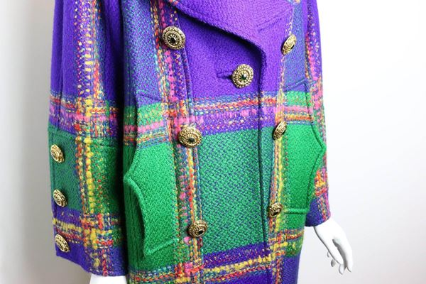 christian-lacroix-multi-coloured-double-breasted-wool-plaid-coat