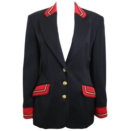 alberta-ferretti-studio-black-officer-jacket