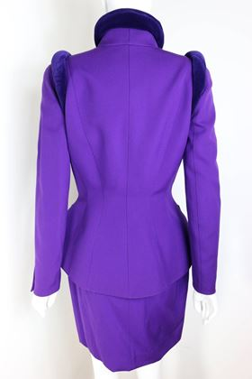 thierry-mugler-purple-skirt-suit-ensemble