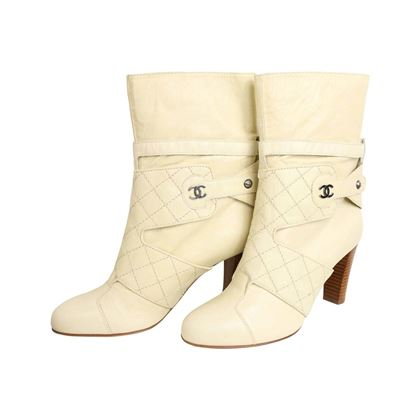 chanel-cream-leather-quilted-ankle-boots