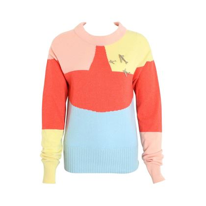 chanel-colour-blocked-cashmere-sweater