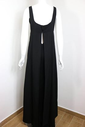 chanel-black-a-line-jersey-maxi-dress