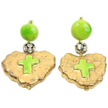 christian-lacroix-green-gripoix-drop-heart-shaped-drop-clip-on-earrings