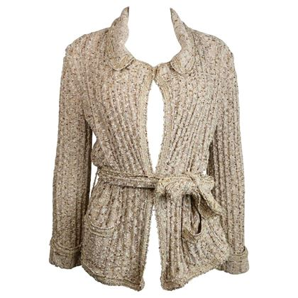 chanel-beigegold-metallic-belted-cardigan-sweater-jacket