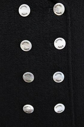 chanel-black-boucle-wool-double-breasted-with-mother-of-pearl-buttons-jacket