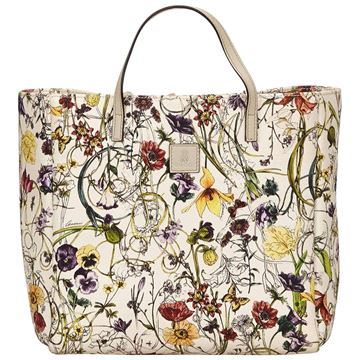 gucci-white-with-multi-coloured-floral-printed-canvas-tote-bag