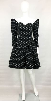 lacroix-haute-couture-puffball-polka-dot-dress-with-faux-sleeves-1980s