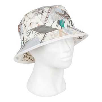 Hermes Blue Printed Cotton Fisherman's Hat
