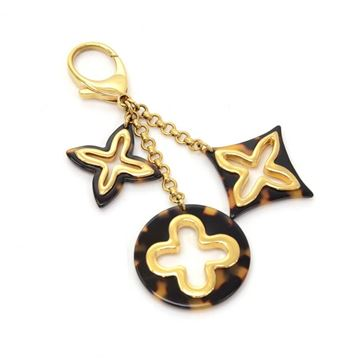 Louis Vuitton Insolence Ecaille Brown Key Chain or Bag Charm