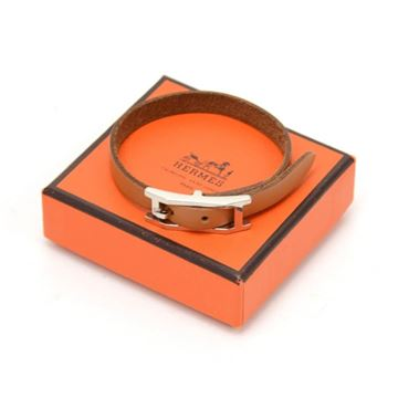 hermes-api-iii-brown-leather-silver-tone-h-logo-bracelet-2