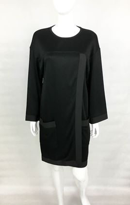 Chanel 1990s Black Jumper Dress