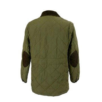 Ralph Lauren 1990s Quilted Tobacco Brown Outdoor Jacket