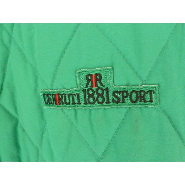 Cerrutti 1881 1990s Quited Green Jacket