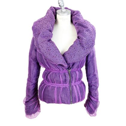 pinko-puffer-down-purple-jacket-size-42-double-breasted-womens