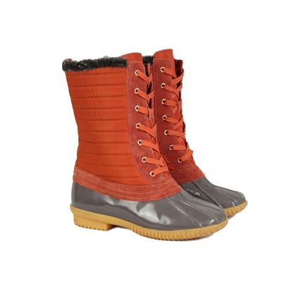 Marc Jacobs 2000s Orange Duck Boots