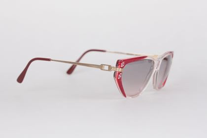 Vintage Red Sunglasses Euterpe 60Mm