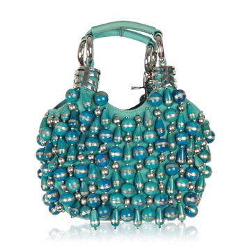 chloe-turquoise-canvas-beaded-bracelet-bag