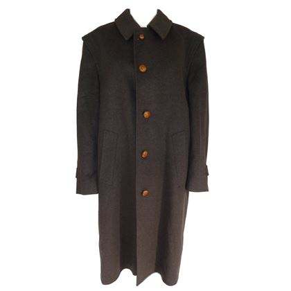 Bugatti 1980s Alpine Loden Brown Long Coat