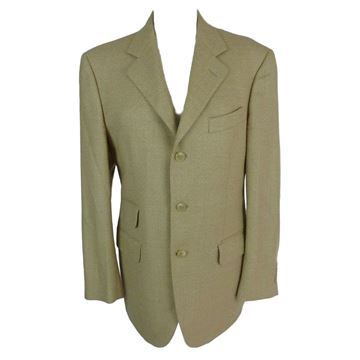 Austin Reed 1980s Beige Wool Jacket