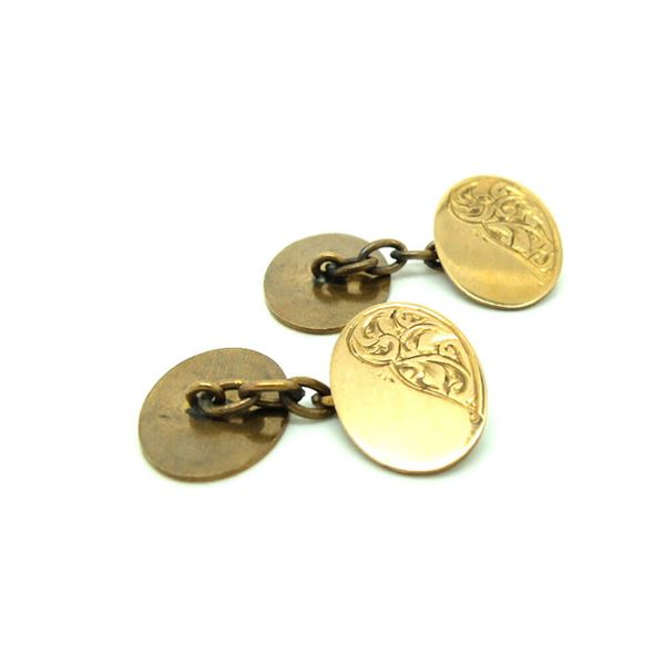 antique-victorian-gold-front-cufflinks