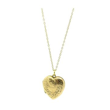 antique-victorian-gold-engraved-heart-locket-necklace