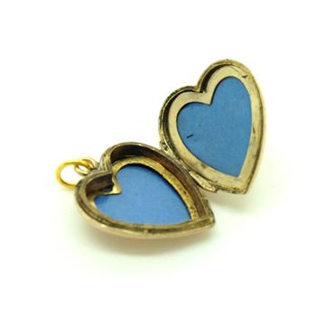 vintage-1930s-gold-heart-locket-pendant