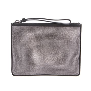 Picture of Giuseppe Zanotti Studded Black Evening Clutch Bag