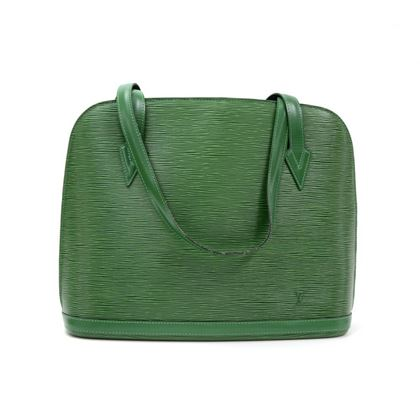vintage-louis-vuitton-lussac-green-epi-leather-large-shoulder-bag-2