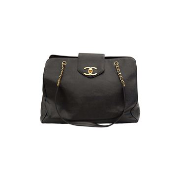 Chanel vintage overnighter weekender XL jumbo bag