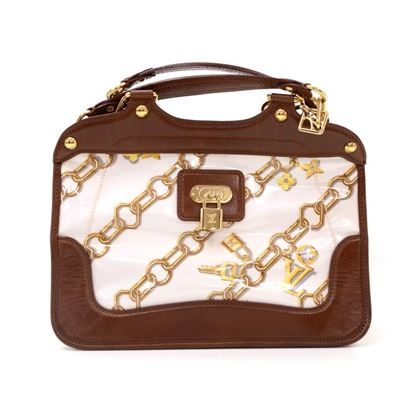 louis-vuitton-charms-lines-vinyl-x-dark-brown-leather-hand-bag