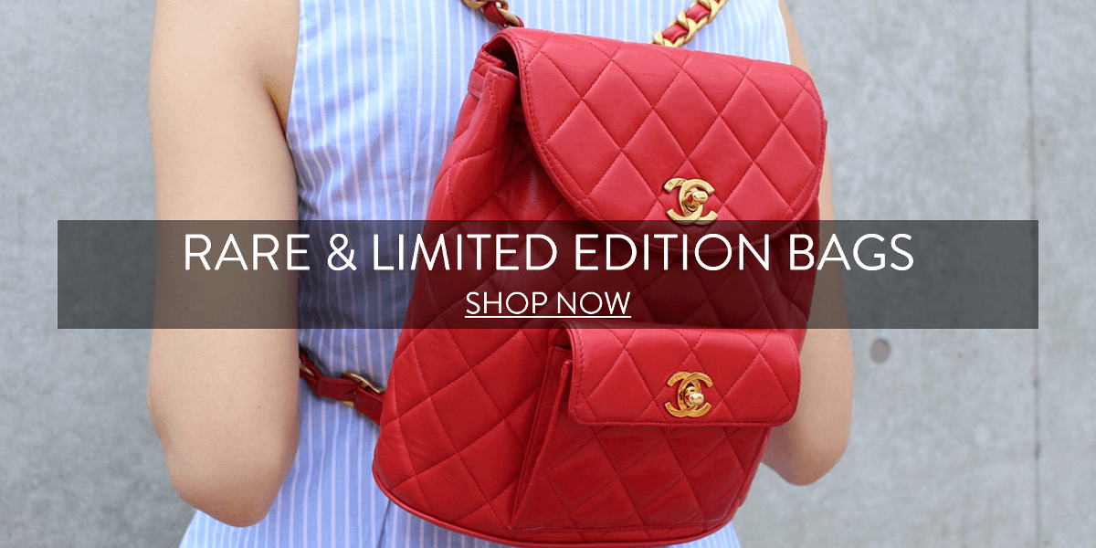 Rare and limited edition bags