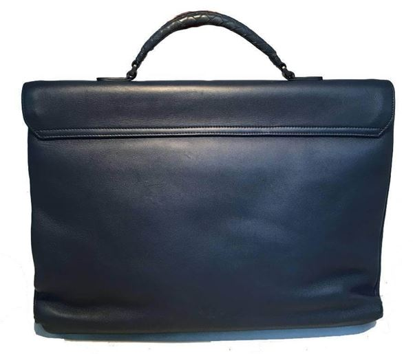 bottega-veneta-navy-blue-leather-briefcase